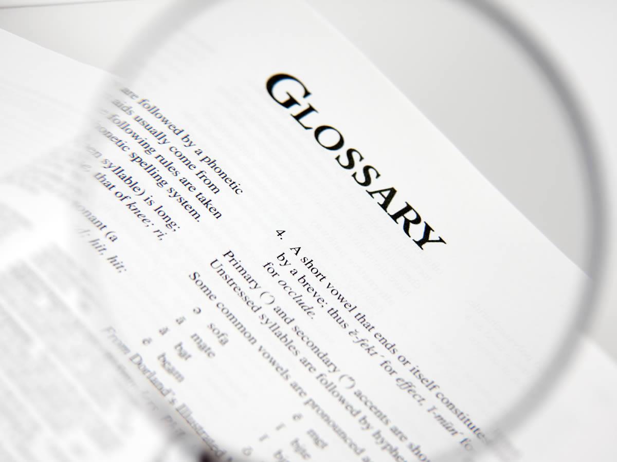 Compression Wear Glossary